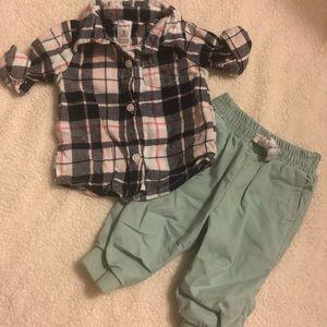 3 month Shirt and Pants